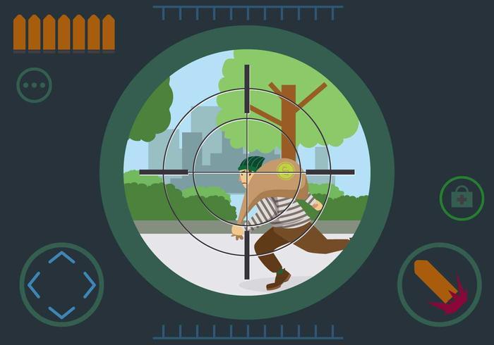 Free Headshot Thief Vector