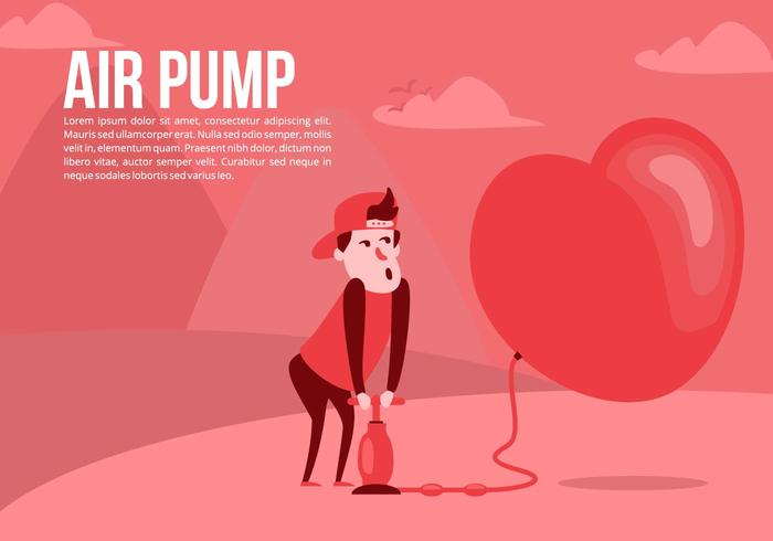Amour Air Pump Background