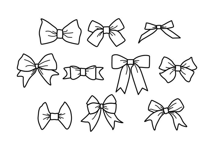 Free Hair Ribbon Vector