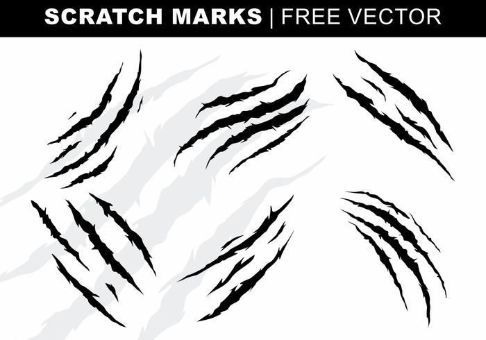 Rasguño, dibujos vectoriales sin