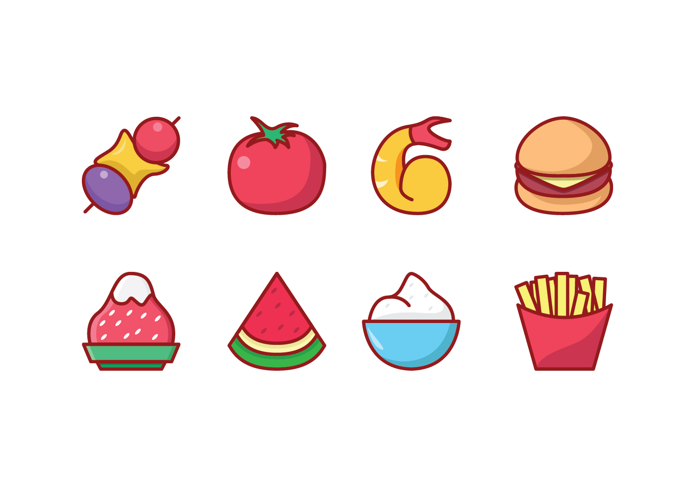 Free Food Icon Set - Download Free Vectors, Clipart ...