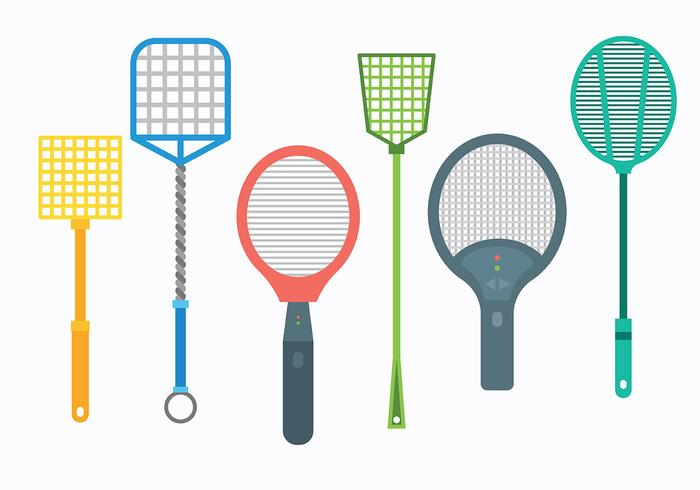 Free Fly Swatter Icons Vector