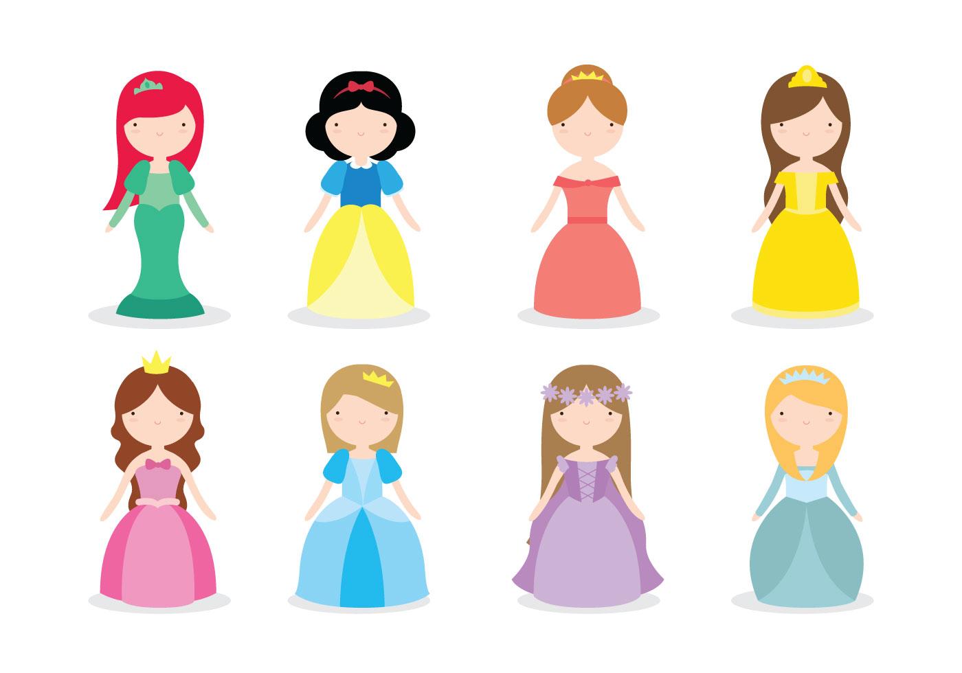 Disney Princess Vectors - Download Free Vector Art, Stock ...