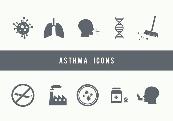 Asthma Icons