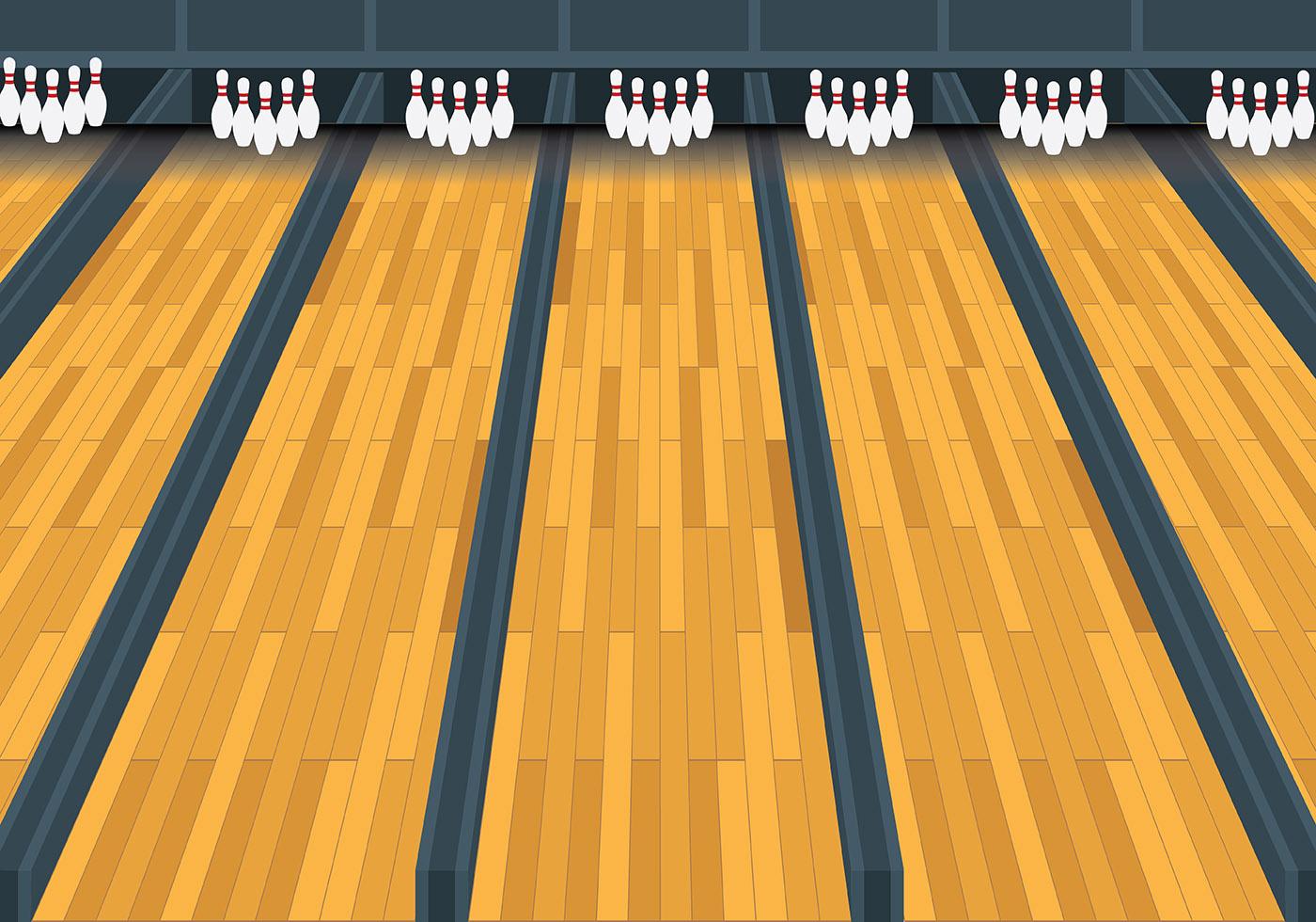 Bowling Lane Vector  Download Free Vector Art Stock