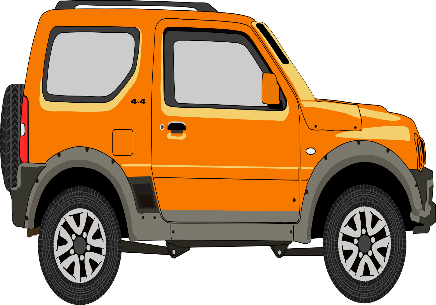 Suzuki Jimny 4sport Vector Download Vetores E Gr 225 Ficos