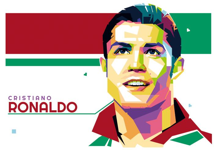 Cristiano Ronaldo vector WPAP