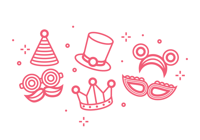 Festa Icon Vector Set