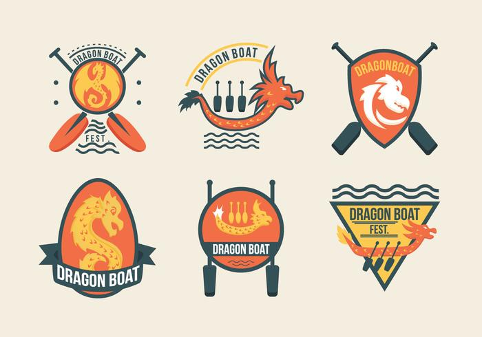Dragon Boat Festival Event Labels
