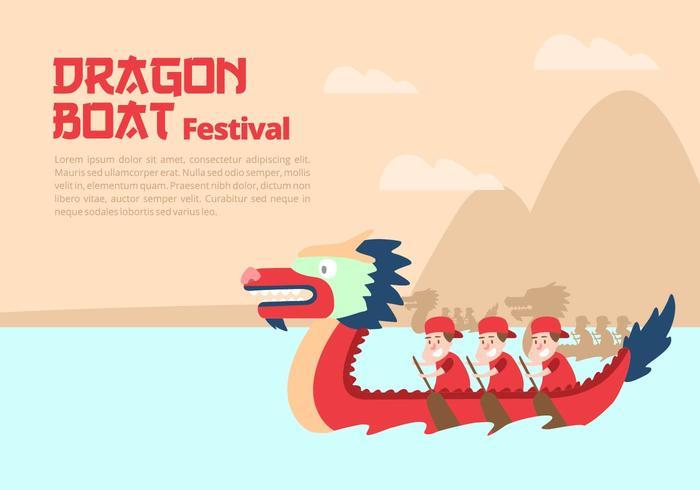 Dragon Boat Festival Fond