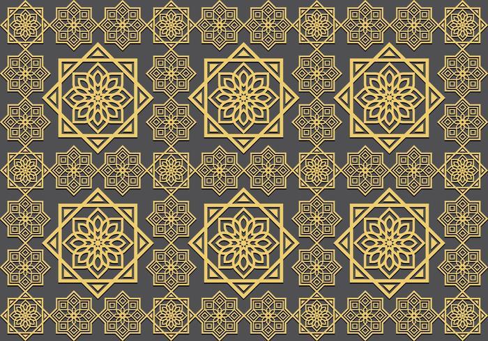 Islamitische ornament Naadloos Patroon vector