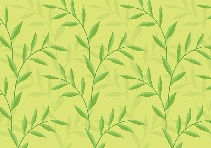 Leafy Background Daun Vector