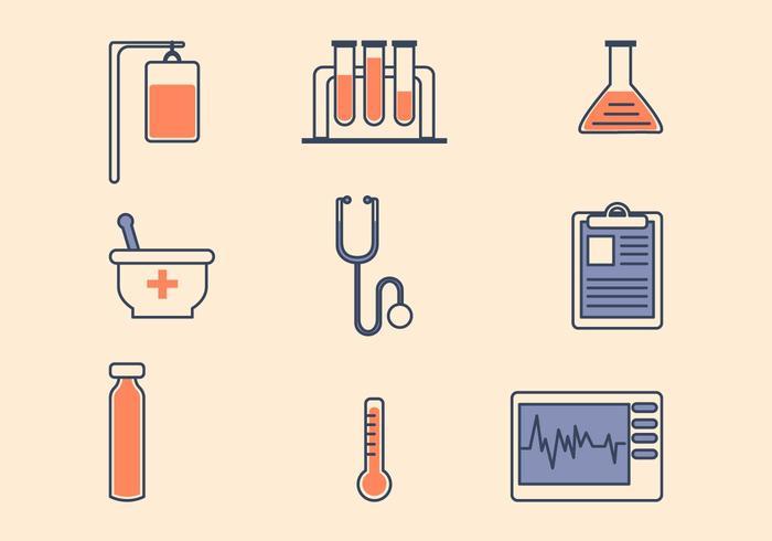 Icona medica piatta