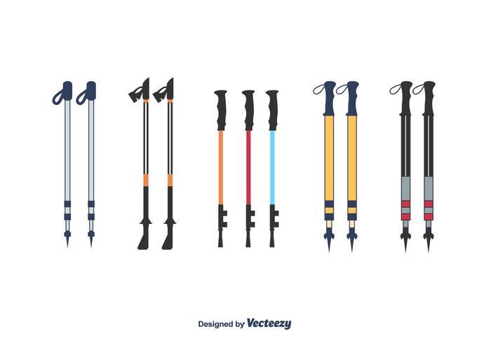 Vettore di bastoncini da Nordic Walking