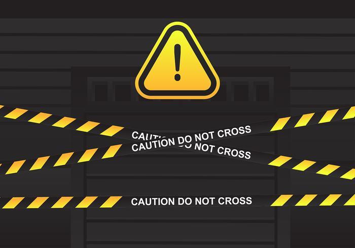 Tape Perigo Durante Vector Porta