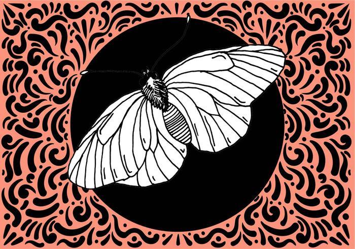 Ornate Moth Design