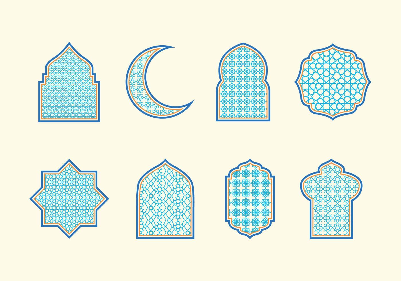 Islamic Ornaments Vector Download Free Vector Art Stock