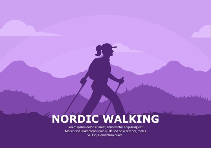 Nordic Walking Background