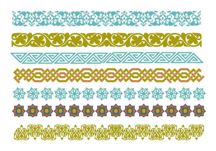 Free Decorative Islamic Ornaments Vector