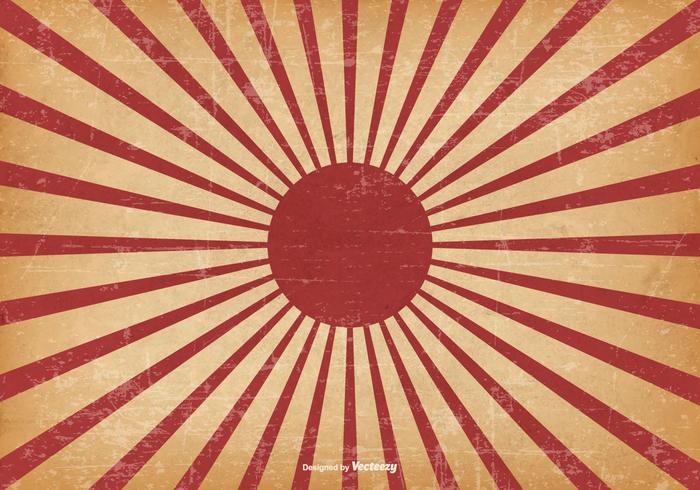 Kamikaze Style Grunge Background