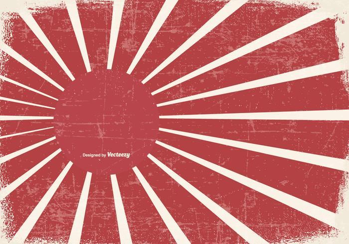 Grunge Kamikaze Style Background