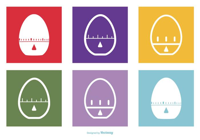 Egg Timer Icon Collection