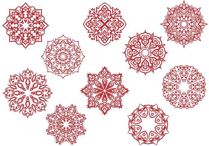Free Circular Ornaments Vectors