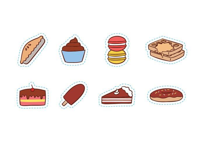 Free Sweet Food Icon Set