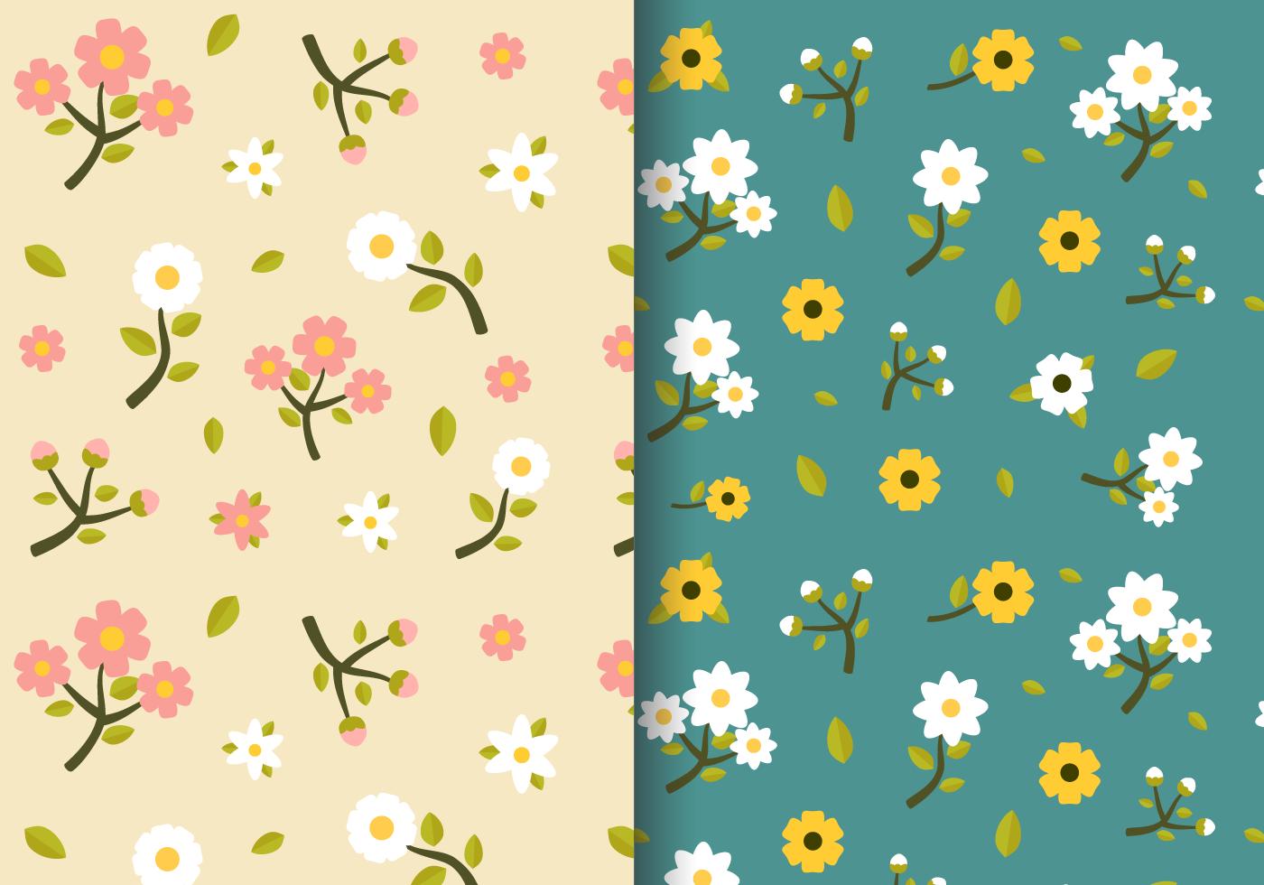 Free Vintage Spring Floral Pattern Download Free Vectors