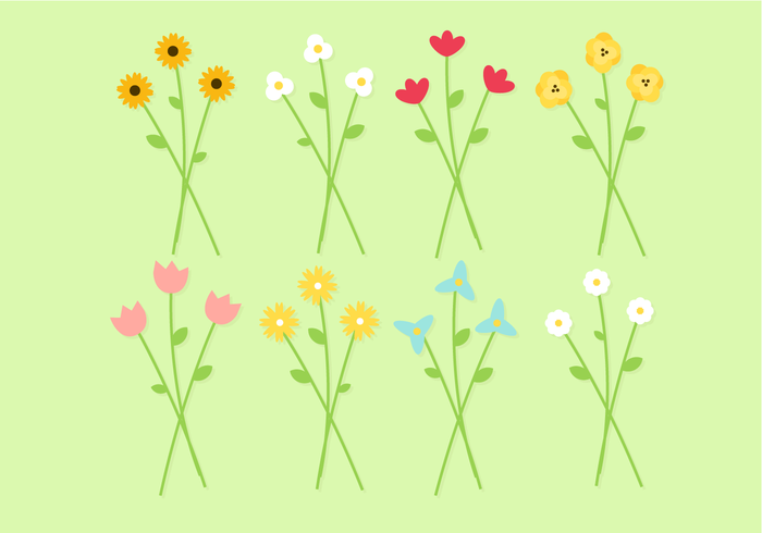 Free Bouquet of Flowers Vector