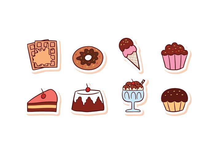 Free Dessert Food Icon Set
