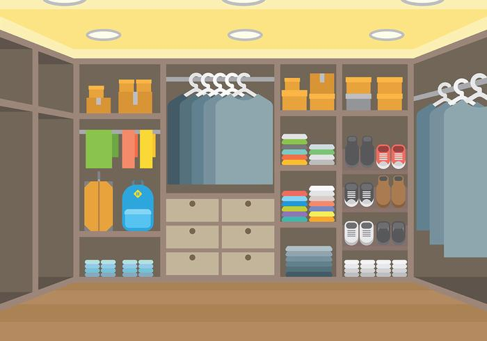 Free Dressing Room Vector