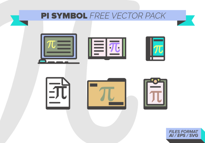 Symbool Van Pi Gratis Vector Pack Download Gratis Vectorkunst En