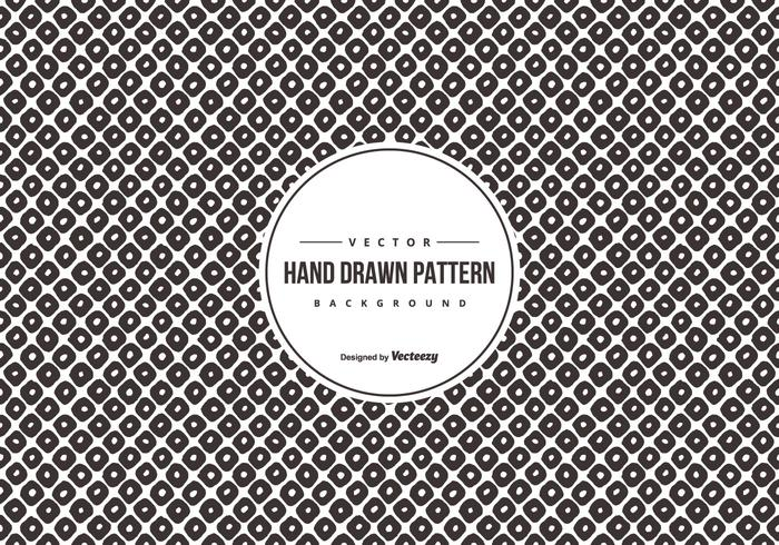 Hand Drawn Style Pattern Background