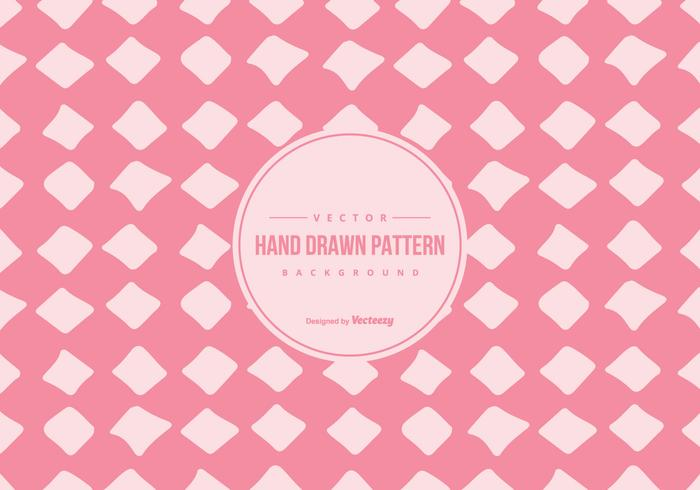Cute Pink Hand Drawn Style Pattern Background