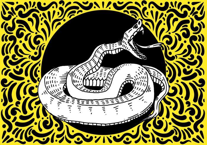 Ornate Snake Design
