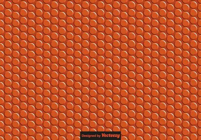 Vector Basketball Texture Seamless Pattern
