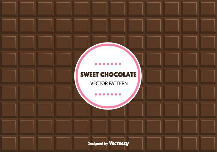 Motif de chocolat sucré