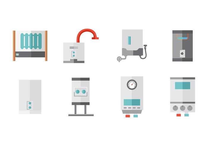 Free Water Heater Collection Vector