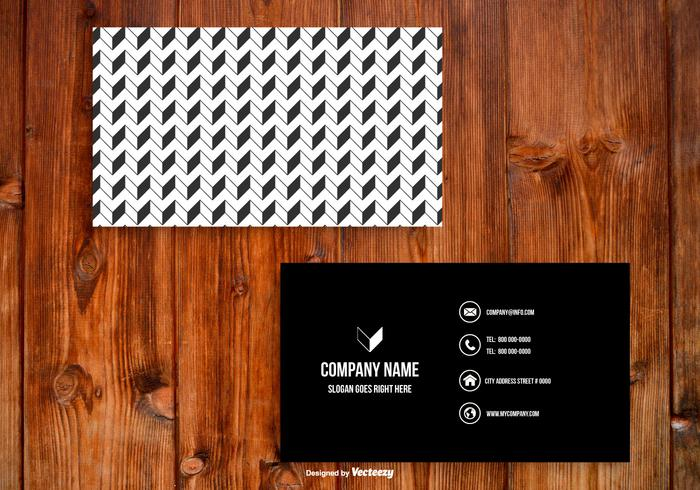 Black and white business card template download free vector art black and white business card template reheart Gallery