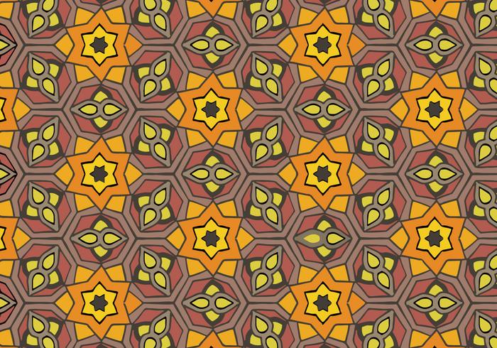 Free Islamic Ornament Pattern Vector