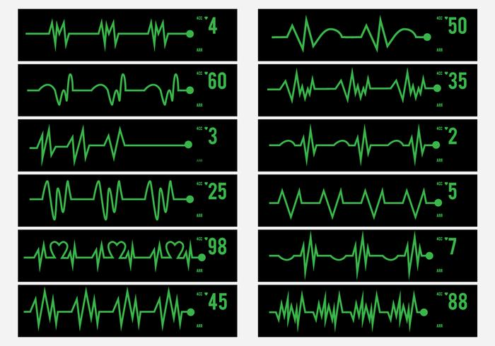 Electrical Activity Human Pulse Icon