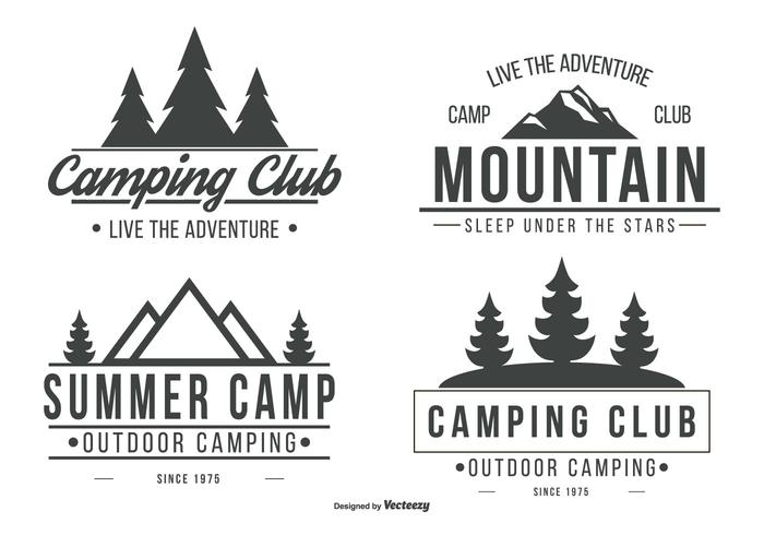 Camping Logo Collection