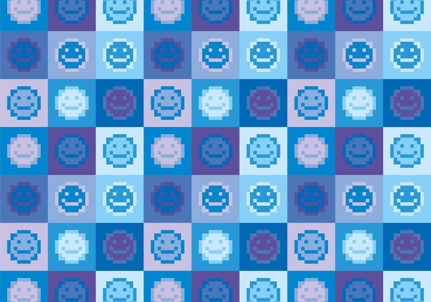 emoji patterns free vector art