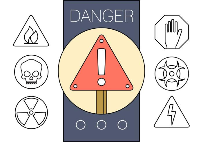 Free Linear Signs of Danger