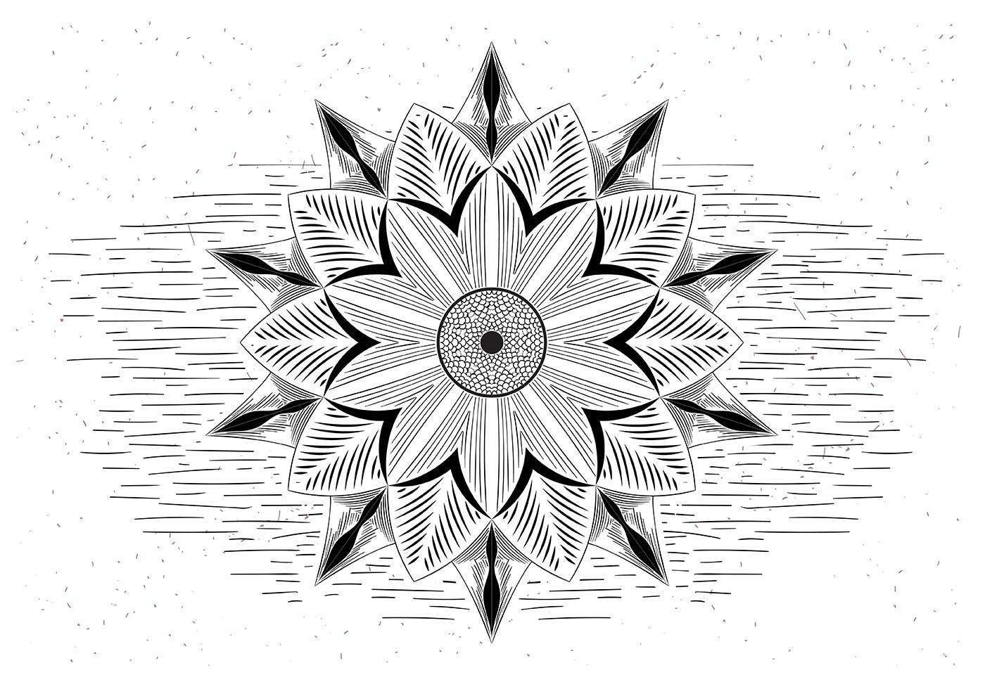 Free Mandala Vector Illustration Download Free Vector