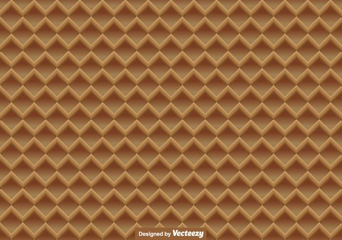 Vector Waffle Close Up Seamless Pattern