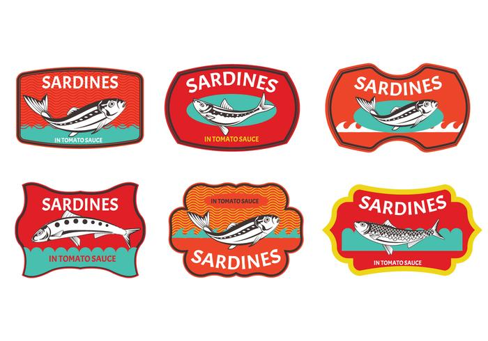 Set von Sardine Label