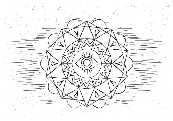 Gratis Geometrische Vector Illustration