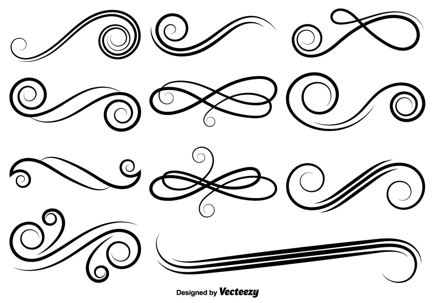 flourish free vector art - (15179 free downloads)